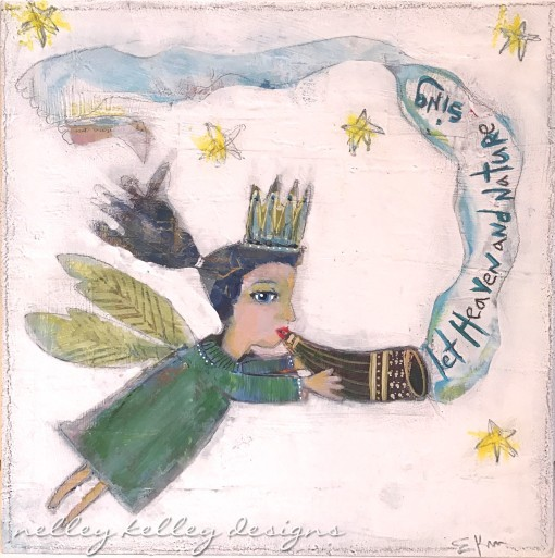 Let Heaven and Nature Sing by Ellen Kelley McHale