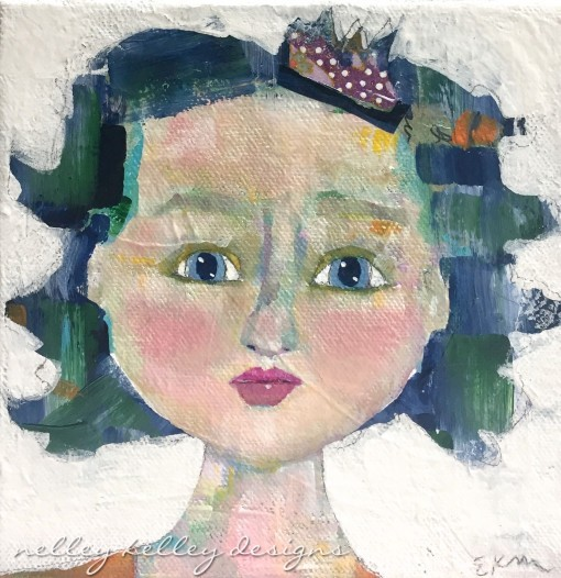 """""""Beth"""" a party girl portrait"""