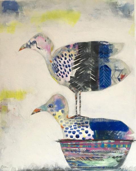 """""""birds: of a feather"""" by Ellen Kelley McHale"""