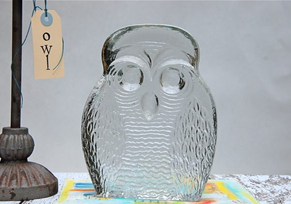 Blenko Glass Owl