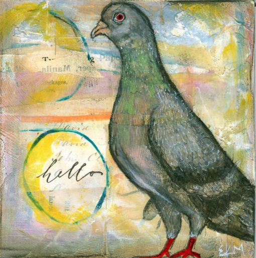 Carrier Pigeon by Ellen McHale