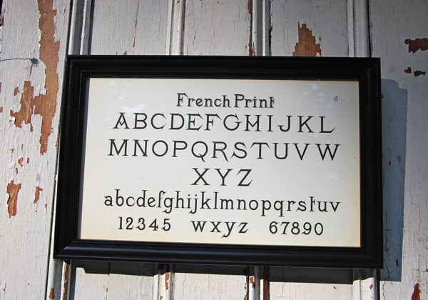 Framed French Print