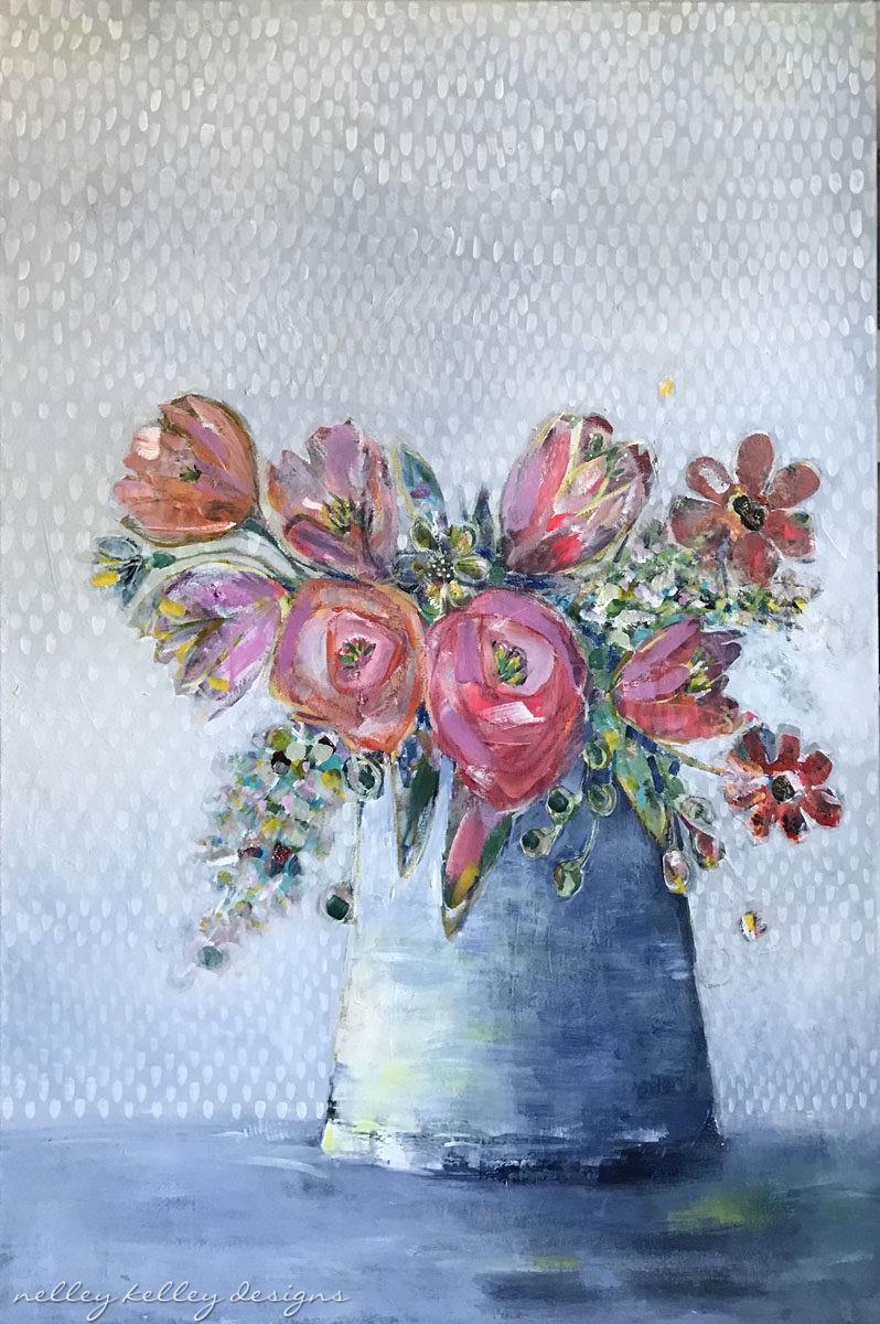 """""""gathered corals"""" by Ellen Kelley McHale"""