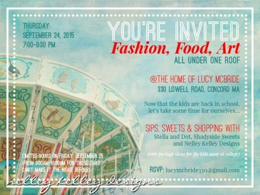 Fashion, food and art party