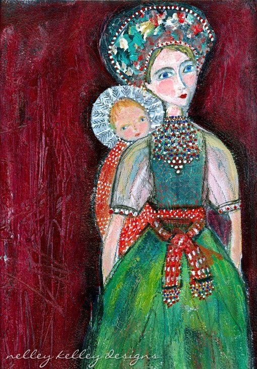 Mother and Child by Ellen Kelley McHale 2014