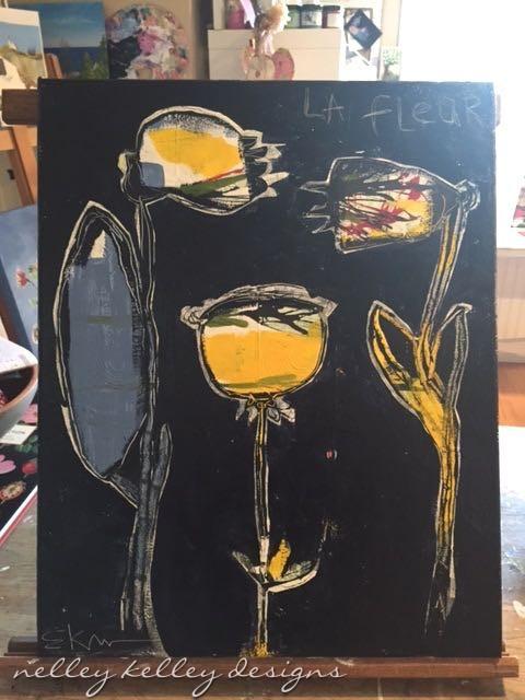 """La Fleur"" new work"