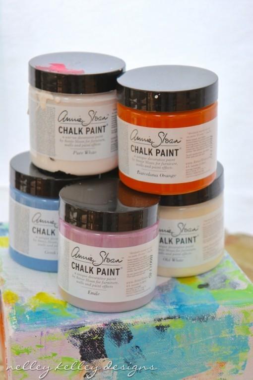 chalk paint pots