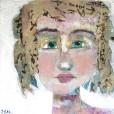 """""""Lori"""" a party girl portrait by Ellen Kelley-McHale"""