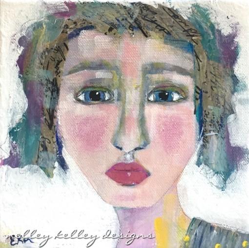 """Simone"" party girl portrait"