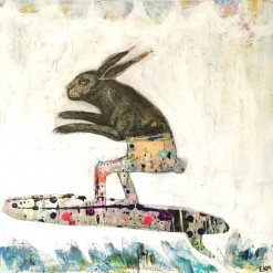 When Rabbits Surf
